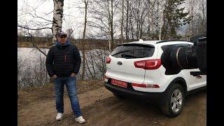 Kia Sportage. Подобрали клиенту авто с задирами.