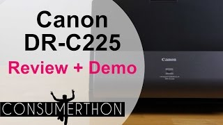 Canon DR C225 Review and Demo
