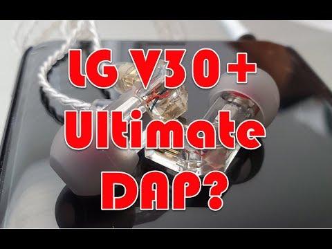 The LG V30 Quad DSP + UAPP + Tidal MQA = Ultimate Budget DAP?