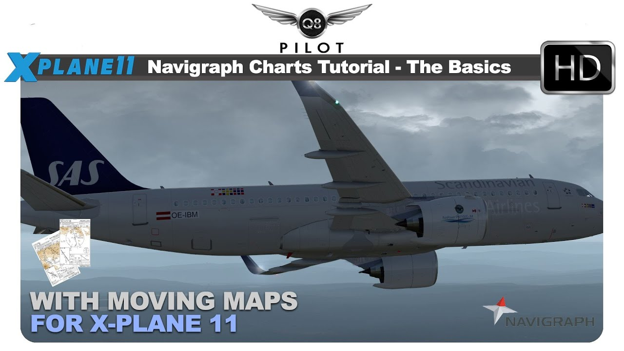 Navigraph Charts Tutorial | The Basics | With Moving Maps for X-Plane 11