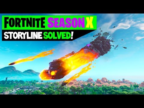 Fortnite Season X Storyline Solved And Explained! -