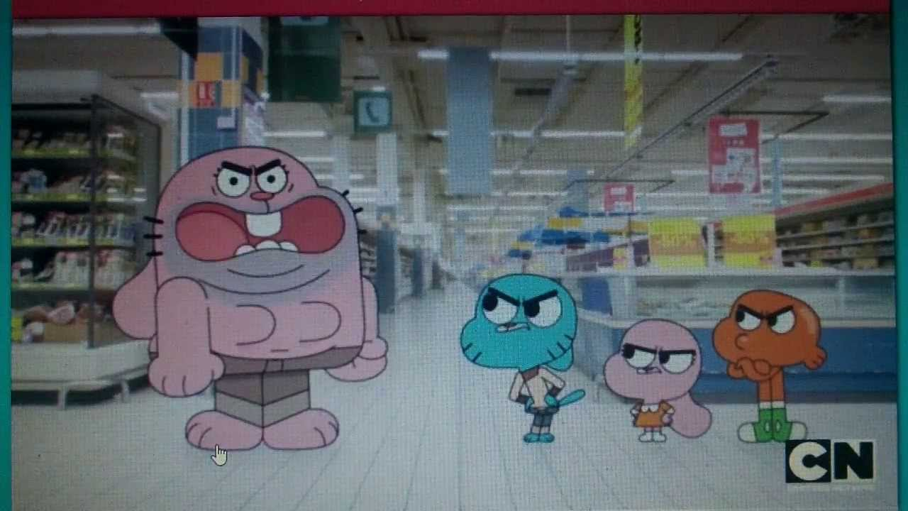 Amazing World Of Gumball Clip - MAN-TASTIC! - YouTube