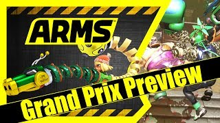ARMS - [Preview | Grand Prix with Spring Man] Nintendo Switch