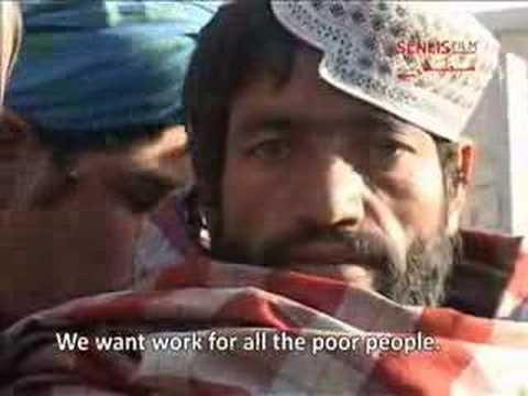 Kandahar City Labor Market, Afghanistan (November 2007)