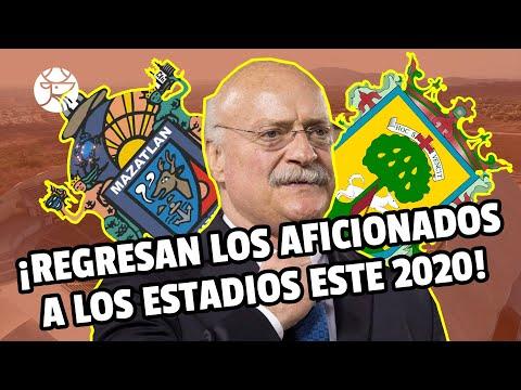 ¡FANTÁSTICO! | Ciudades mexicanas que permitirían el ingreso de aficionados a los estadios este 2020