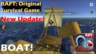 NEW UPDATE! BOAT, ISLANDS AND ZOMBIES! | RAFT: Original Survival Game