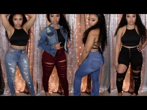 b6182c7e148 Fall Winter Monotiques Jean Haul   Try-on - YouTube
