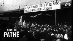 World Peace Congress In Paris (1949)