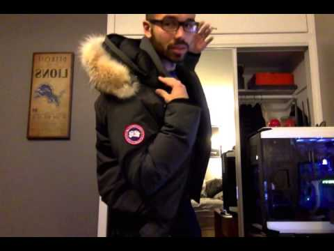 Canada Goose trillium parka online official - Canada Goose Borden Bomber Review - YouTube
