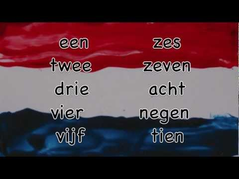 To count in Dutch / Tellen in het Nederlands / Lessons Dutch language numbers / Nederlandse les