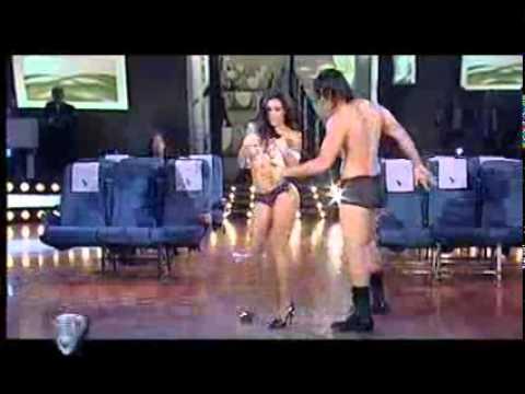 Showmatch 2008 - Marcelo participó en la coreo de Valeria Archimó