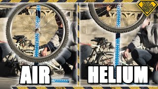 What Happens When Bike Tires Are Filled With Helium?