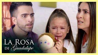 La Rosa de Guadalupe: Lorena y Julio pelean por cómo educan a Juanita   El músculo mentiroso