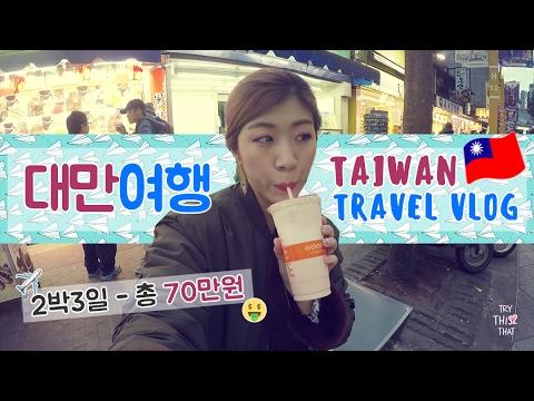 [VLOG] 여자 혼자서 떠나는 대만여행 Travel to Taiwan | 제씨 TryThis2That
