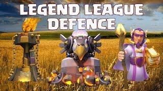 Clash of Clans | Legend League TH11 Defence | Legenden Liga RH11 Verteidigung | Part 2