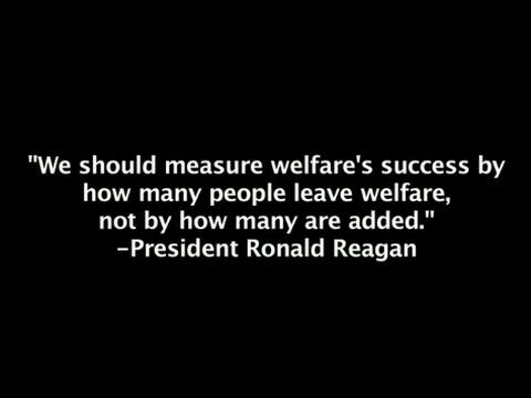 The Welfare Reform Act of 2011