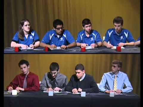 2012 West Kentucky Academic Bowl: Lone Oak vs Graves Co.