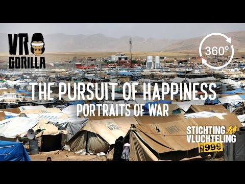 Portraits Of War – Syrian Refugees in Iraq (360 VR Video)