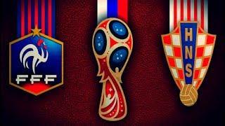 Футбол. Чемпионат мира 2018. Франция х Хорватия. Финал.
