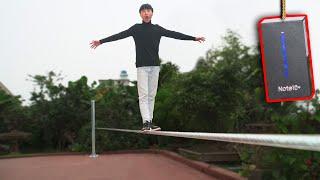 NTN - Thử Thách Đi Trên Dây Nhận Samsung Note 10+ (Rope Walking To Get A Samsung Note 10 + )