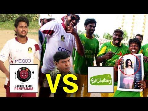 PP Oviya Army VS Put Chutney Cricket Match | Youtubers Cricket League | YCL 2017