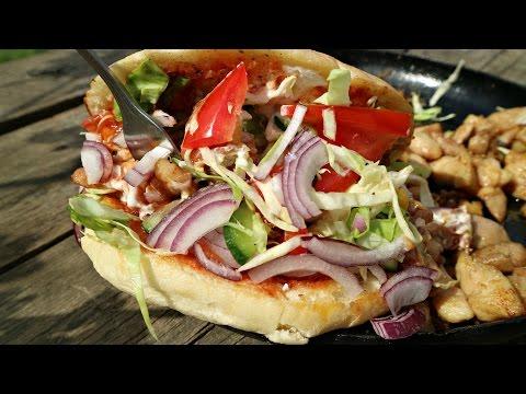 Кебаб в булке | Как приготовить кебаб дома | Döner Kebab W Bułce | The Best Doner Kebab Turkish Food