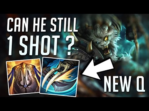 REWORKED RENGAR IS A TANK NOW ? CAN HE STILL 1 SHOT ? + BEST BUILDS