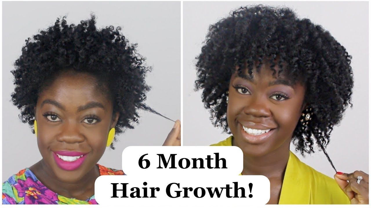 6 months hair styles how i grew my 4b 4c hair in 6 months big chop update 5757