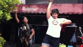 (2) Keseruan Kampanye #PEMILGO No. 2 Di Holycow! Steakhouse By Chef Afit - Senopati
