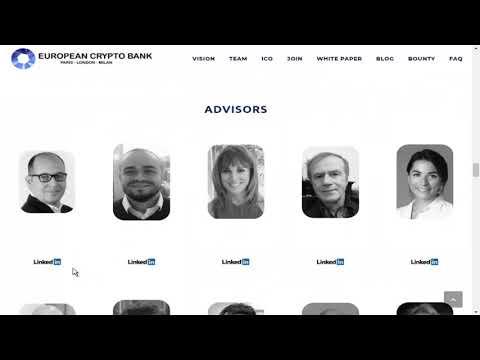 Review European Crypto Bank Team!!!!!