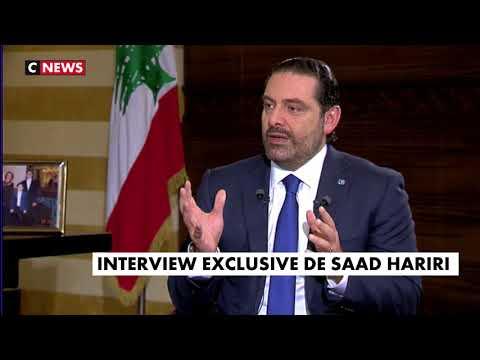 Interview de Saad Hariri par Jean-Pierre Elkabbach