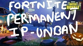 How to get Unbanned From Fortnite Battle royale (working 100%)