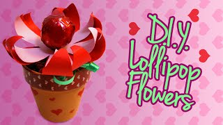 Lollipop Flowers - Valentine