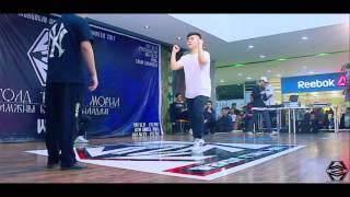 huchee vs dulguun w2m dance festival 2017 winter popping top 8