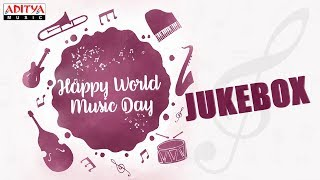#HAPPYWORLDMUSICDAY Special Songs Jukebox | Latest Telugu Songs