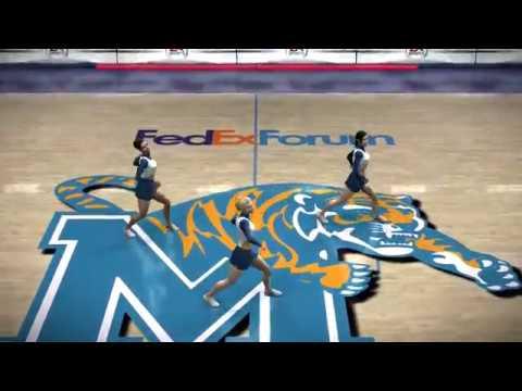 NCAA Basketball 08 Season 2007 2008 Kansas Jayhawks vs Memphis Tigers