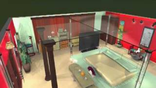 Sp/ Confidential Designs-3d Master Bedroom Room- View 6