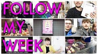 FOLLOW MY WEEK | Zuseher-Treffen, Cupcake-Kurs, Kolumne, Online-Shop,... | Michael Buchinger