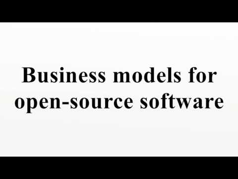 Business models for open-source software