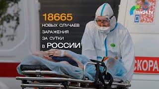 COVID 19 в России 18665 новых случаев заражения за сутки