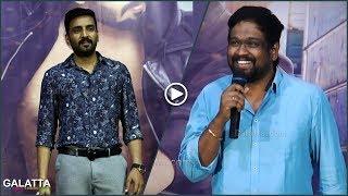 Santhanam is not a comedian, he's an action hero | director rajesh jokes | sakka podu podu raja