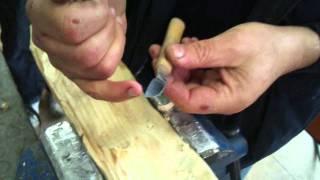 Kaşık Oyma Bıçağı Bileme Metodu