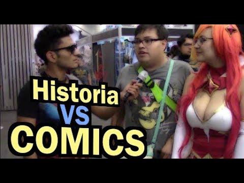 COMICS VS HISTORIA