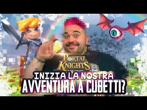 Portal Knights: Inizia la Nostra Avventura a Cubetti?