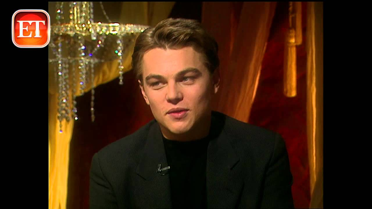 Leonardo Dicaprio 1997 Titanic Interview Youtube