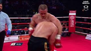 Андрей Афонин - Виктор Чварков | Полный бой| Мир бокса