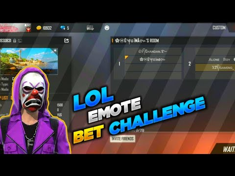 Custom Lol emote 🤣Bet 💵 Challenge 💥 || 2 🆚 2 || Clash squad || criminal bundle || Gameplay