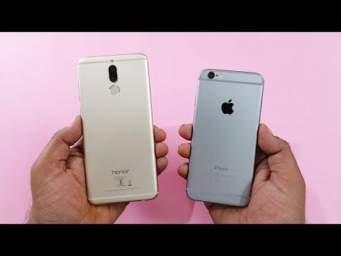 Honor 9i vs iPhone 6 SPEED TEST | COMPARISON!!