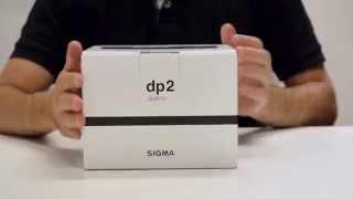 Sigma dp2 Quattro: desempaquetado