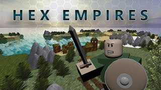 Underrated Roblox games | Hex Empires Tutorial Gameplay (no commentary)